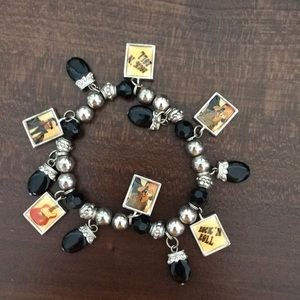 Jewelry - 🎃 5 for $15 sale! Rock and Roll Charm bracelet